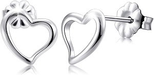 Titanium Earrings, Hypoallergenic Stud Earrings for Women Girls Men Sensitive Ears