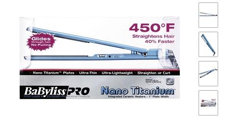 Nano Titanium Ultra Thin Straightening Iron